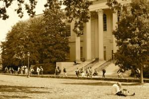 Campus life near Wilson