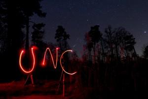 Stargazing at UNC